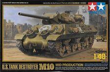 1/48 Tamiya 32519 - US WWII Tank Destroyer M10 Mid Production Plastic Model Kit