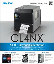 SATO, CL408NX, PRINTER, Includes 1 YR Warranty
