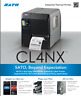 SATO, CL408NX, PRINTER, 203DPI, 10IPS, SERIAL/PARALLEL/ETHERNET/USB/BLUETOOTH IN