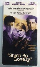 Shes So Lovely (VHS,1998) Robin Wright Sean Penn John Travolta VHSshop.com