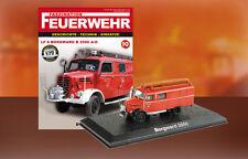 Camion Pompieri LF 8 Borgward B 2500 A/O - Feuerwehr Bomberos DIE CAST 1:72