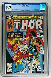 THOR #305 CGC 9.2 NM (MARVEL 1981) 🔑 AIR-WALKER & FANTASTIC FOUR 🔥 WHITE PAGES