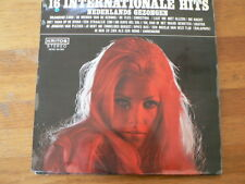 LP RECORD VINYL PIN-UP GIRL 16 INTERNATIONALE HITS  NED. GEZONGEN KRITOS