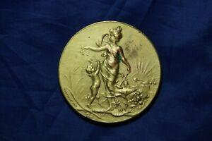 médaille Massouet exposition universelle Marseille 1900 cuivre