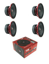 "4 x DS18 PRO-EXL68 6.5"" Pro Audio Mid range Loud Speaker 2400W 8 ohm"