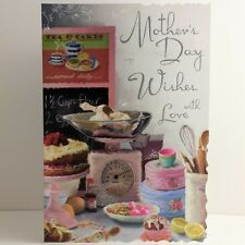 Jonny Javelin Baking Mother's Day Wishes Card/Mum Mothers Day Greeting Card/VMD2
