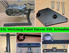 Simson Werkzeug Paket, Spezialwerkzeug, Motorständer + 6 Werkzeuge S50, KR51/1