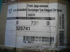 Obere Zier Blende für Zarge Kilsgaard 325741 Stilzarge 1985 x 735 Weißlack