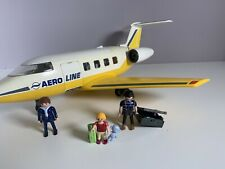 Playmobil Jet Plane 3185 With Figures