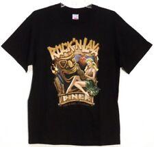 "Tennessee River "" Rock'N Lava "" Short Sleeve T-Shirt  L Black 100% Cotton NWT"