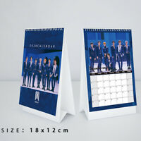 "2020 Kpop Monsta X Mini Album ""FOLLOW"" : FIND YOU Desk Calendar Fan Goods Cxz"