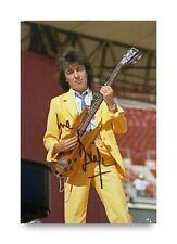 More details for bill wyman signed 6x4 photo the rolling stones music autograph memorabilia + coa