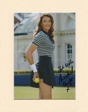 ANNABEL CROFT WIMBLEDON TENNIS LEGEND PP MOUNTED 8X10 SIGNED AUTOGRAPH PHOTO