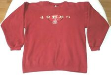 San Francisco 49ers Starter sweatshirt men sz L vintage 90s NFL SF
