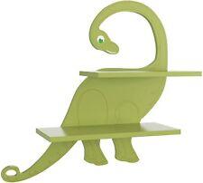 Kinderregal Bücherregal für Kinder Wandregal Hängeregal Dinosaurier Ablage Holz