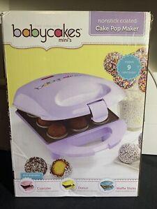 the original Babycakes minis Cake pop Maker