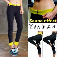 Sweat Sauna Suit Body Shaper Slimming Long Pants Thermo Neoprene Gym Weight Loss