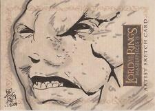 """Lord of the Rings Masterpieces II - Brian Kong """"Gothmog"""" Sketch Card"""