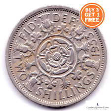 More details for 1953 - 1967 british two shillings queen elizabeth coin choose your dates