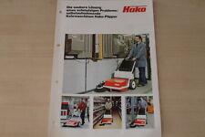 163313) Hako Kehrmaschine Flipper Prospekt 197?