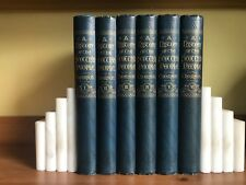 A History of the Scottish People – Thomson - Complete 6 volumes set