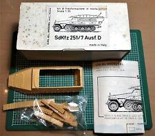 CRI.EL. MODEL - SdKfz 251/7 Ausf.D CONVERSION KIT- 1/35 RESIN KIT RARO