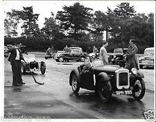 PHOTOGRAPH RUSHMOOR SPRINT CAR RACE 1954 AUSTIN SEVEN BPH 995 VIC HOOD ALDERSHOT