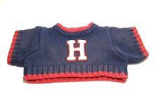 Tommy Hilfiger Doll Teddy Bear Sweater Accessory Blue Red Trim Knit