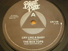 "THE BOX TOPS-CRY LIKE A BABY/Jimmy GILMER-Cabane à sucre 7"" vinyl EP"