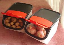 Tupperware Access Mate Garlic and Potato Keeper,Set of 2(5 ltr & 3 ltr)Brand New