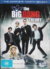 The Big Bang Theory Season 4 (DVD, 3-Disc Set) Region 2