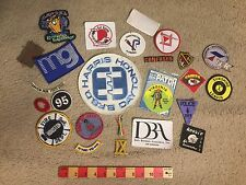 Misc. Patch Lot X 25 Patches ~ Some Vtg & 4 Or 5 Not Finished w/o Backs LOT65.X