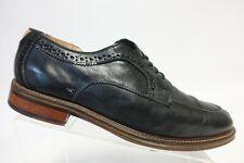 JOHNSTON & MURPHY Split-Toe Derby Black Sz 10.5 D Men Dress Shoe Oxfords