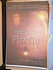 Vintage Ad Firefly Tv Show Nathan Fillion Fox Advertisement Whedon Serenity Now!