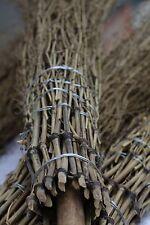 5 Bambus - Besen Reisigbesen Reiser Strauchbesen Hofbesen Pferdestall Buschbesen
