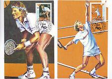 Briefmarken Jugoslawien,Postkarten,Sonderstempel.Sport.Eurovision.