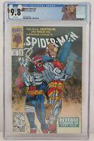 Spider-Man #21 Limited Edition Label Marvel April 1992 CGC Graded 9.8