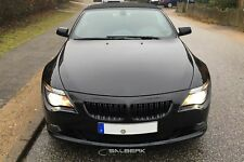 schwarz hochglänzend beschichtet Nieren Set 6er BMW E64 Cabrio M6 salberk 6301DL