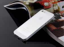 0.3mm Ultra Thin Slim Matte Hard Back Case Cover Skin For Apple Phone SE 6S 5C