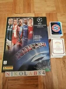 CHAMPIONS LEAGUE 2010 2011 PANINI Album+Full Set