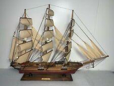 Wooden Model Ship Red Jacket
