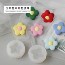 1pc Rose Flower Silicone Molds Floral Roses Candle Mold Soap Making Supplies Kit