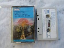 CASSETTE MOODY BLUES IN SEARCH OF THE LOST CHORD rare white label Deram scm 711