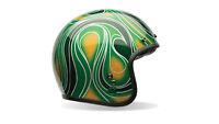 Bell Motorcycle Helmet Bell Custom 500 Chem Candy Green