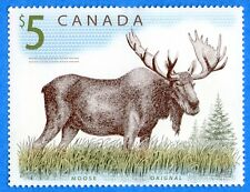 2003 Canada #1693 $5 FV Wildlife Definitives Moose Souvenir Stamp Sheet Mint-NH