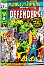 Marvel Feature 1 FVF (7.0) 1st Defenders KEY Comics 1971 The Hulk Sub-Mariner