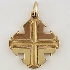 James Avery Rare 14 Karat Yellow Gold Cross