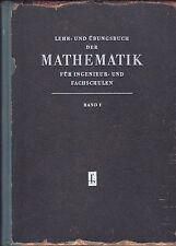 Mathematik DDR Sachbücher