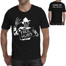 Free Hugs Freddie Krueger Funny Horror Mens printed  T-shirt