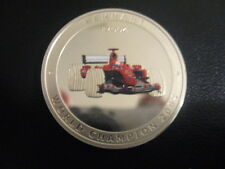 "Cook Islands 2005 Multi-color ""Ferrari-F2004"" Silver $5 Proof Scarce"